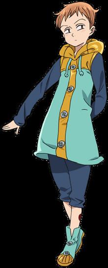King anime full appearance
