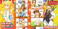 Fairy Tail x Nanatsu no Taizai (4-koma)