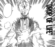 Escanor revived by Gloxinia's Drop of Life