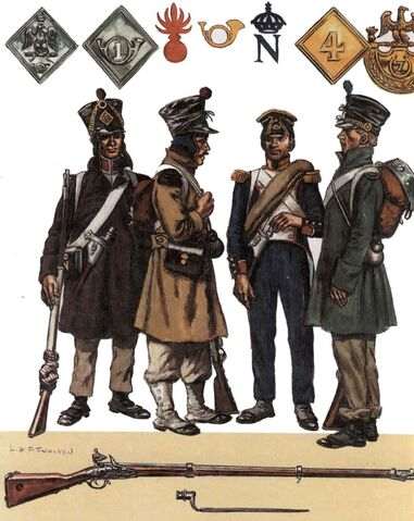 File:French Infantry during the 1814 Campaign in France..jpg