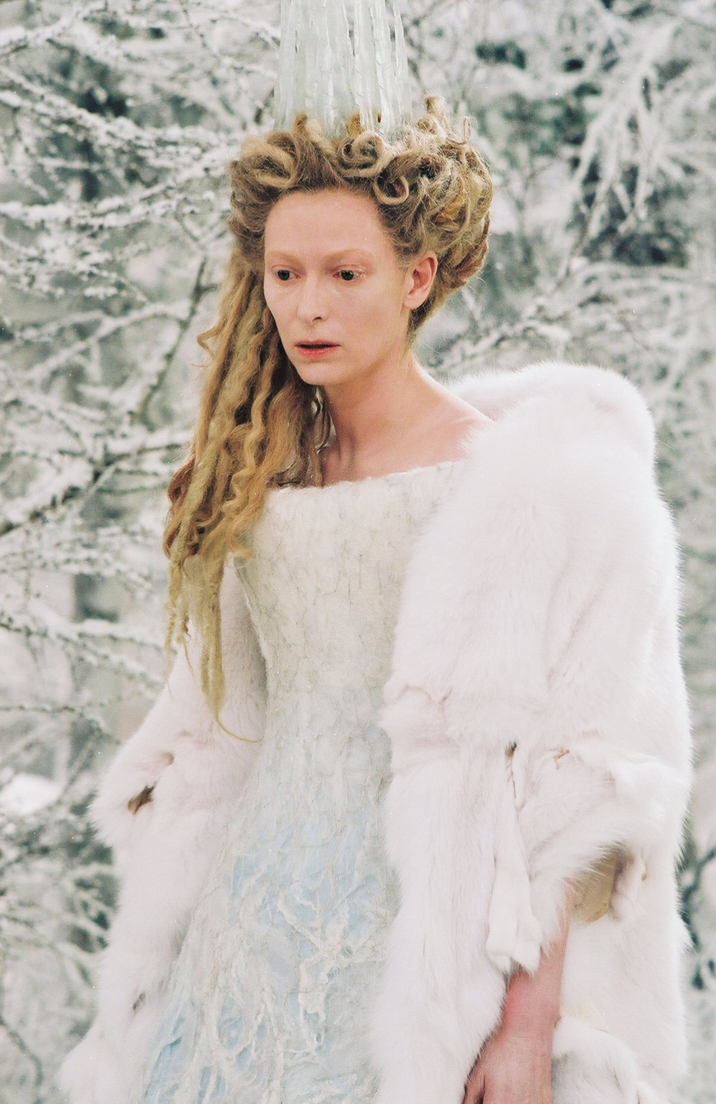 the villain from Narnia, Jadis the White Witch