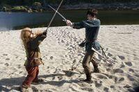 Edmund duels trumpkin