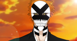 Ichigo's New Hollow Mask