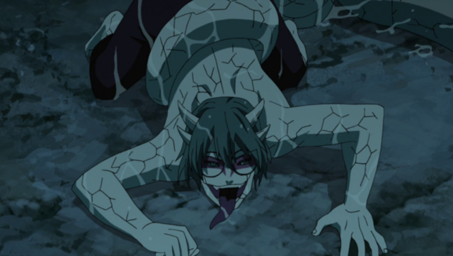 File:Kabuto enters Sage Mode.png