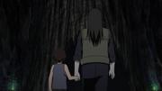 Tenzō follows Orochimaru