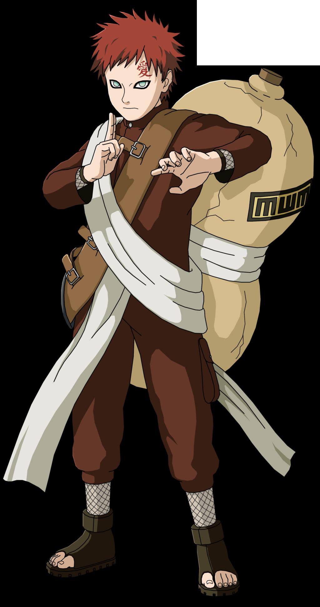 Image - Gaara second Part I.png | Narutopedia | FANDOM ...