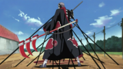 Hidan restrained by Shikamaru