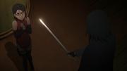 Sarada Meets Sasuke
