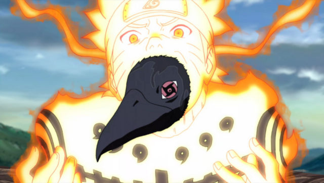 File:Itachi's Crow and Naruto.png