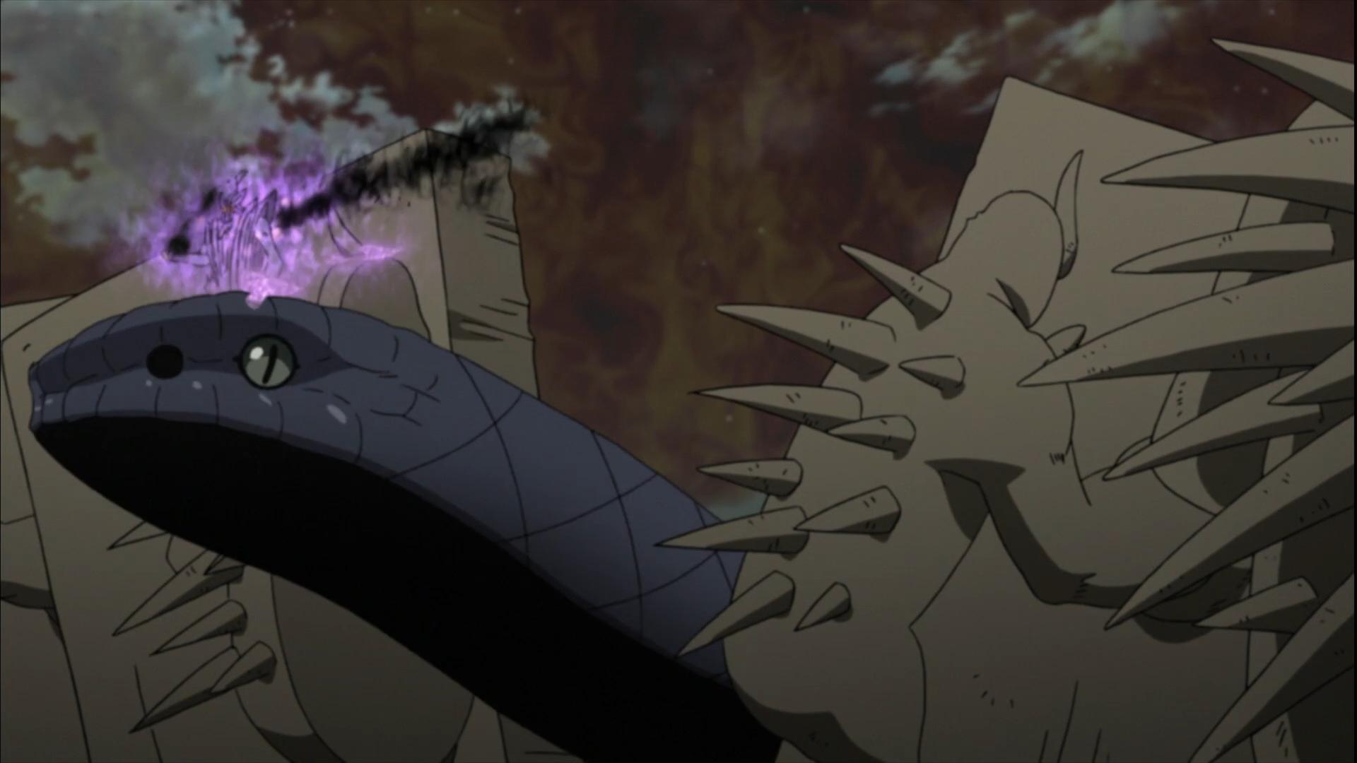 Kinshiki VS Hebi Sasuke, MS Sasuke | Anime Forum & Anime ...