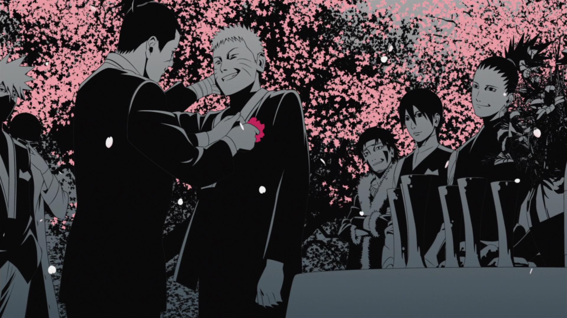 Image - Iruka with Naruto at his wedding.PNG | Narutopedia ...