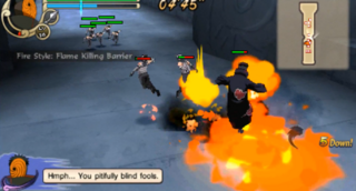 Flame Killing Barrier