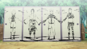 Sai's portrait of Team 7