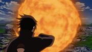 Izuna uses Katon