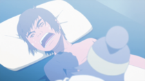 Komushi infected by his own poison.png