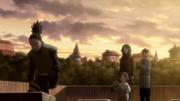 Shikamaru visits Asuma's Grave