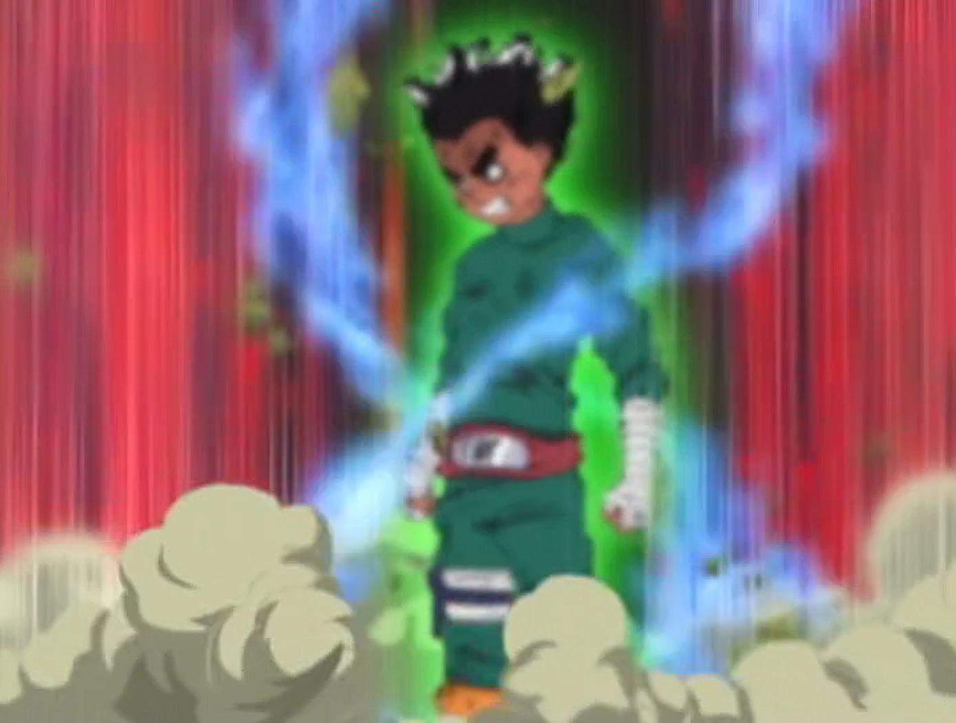 Eight Gates | Narutopedia | FANDOM powered by Wikia Gaara And Rock Lee Vs Kimimaro