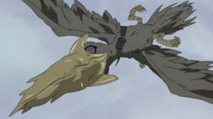 Giant Drill-Beaked Bird