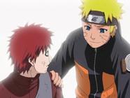 Naruto saves Gaara