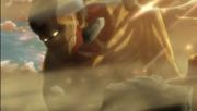 Kaname's Titan Transfomation