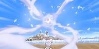 Ice Release: Blizzard Ball Technique
