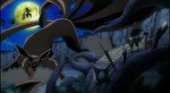 Hashirama vs Nine-Tails and Madara