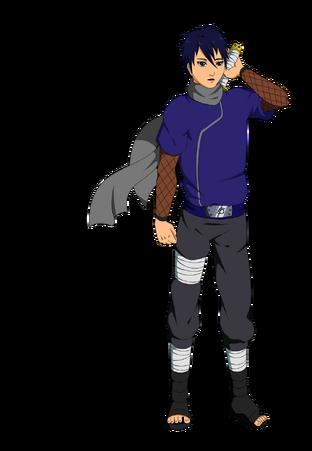 Naruto OC Seshin Ryuzaki By KirAlien