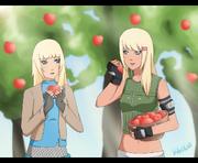 Com peach harvesting by kikuri lia-d56z7fb