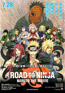 Naruto the Movie- Road to Ninja's main poster