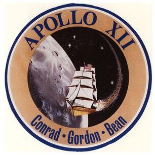 Apollo 12 insignia art