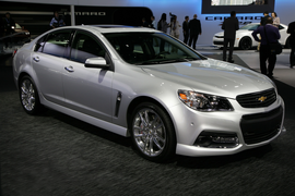 2014 Chevrolet SS front