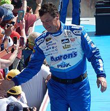 Michael Waltrip at the Daytona 500