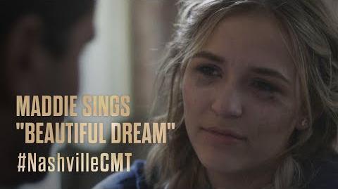 "NASHVILLE on CMT Maddie Sings ""Beautiful Dream"""