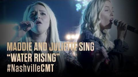 "NASHVILLE on CMT Maddie and Juliette Sing ""Water Rising"""