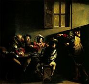 300px-Caravaggio - La vocazione di San Matteo