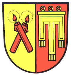File:Candles and Candles - Kirchdorf an der Iller Wappen.png