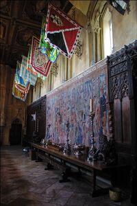 Interior of Donia Castle