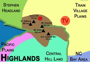 Highlands Map 1