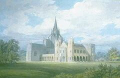 Fonthill Abbey from the southwest