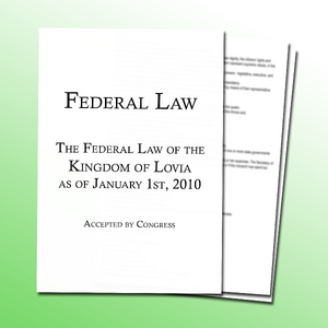 Federal Law January 2010