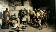 Paja Jovanovic, The Wounded Montenegrin, 1882