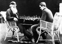 Arthur II and Arthur III play chess together