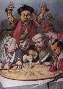 Caricature China imperialism