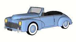 1953 Peugeot 203 cabriolet