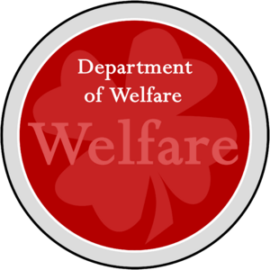 Seal of the Department of Welfare