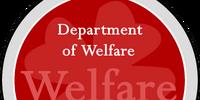 Department of Welfare