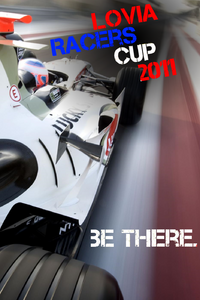 Lovia Racers Cup Poster-2011