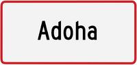 Adoha sign