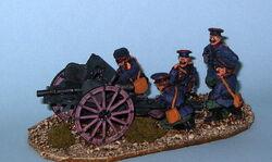Royal Guard gun crew (WWI)