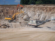 Quarrying in East Hills